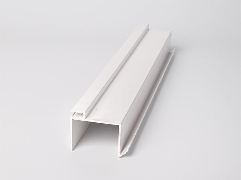 PSI Extrusion - profilé plastique - profilé plastique en u - profilé pvc plat, 040 nettoyé